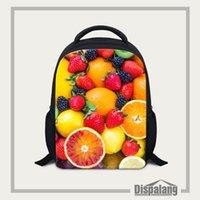 Wholesale Dispalang Fruits Candy Printing School Bag For Children Inch Cute Trendy Kids Backpacks Kindergarten Book Bag Student Satchel