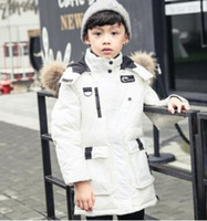 Wholesale 2016 Korean version of the new children down boy in the long winter in thick jacket children s clothing