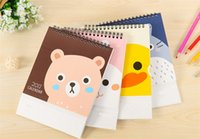 Wholesale 4PCS Table Desk Calendar Cute Kawaii Lovely Schedule Agenda Monthly Planner Diary Checklist Memo Notebook