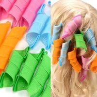 Wholesale DIY Amazing Magic Leverag Hair Curlers Curl formers Plastic Hair Roller Hooks Hair Styling Tools