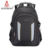 Wholesale Edison Business Travel Fashion Casual Notebook Backpack Male and Female14 inch Sleeve Oxford Cloth Shoulder Bag