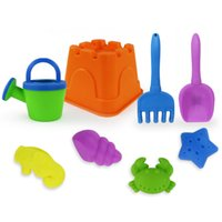 Others best creativity - Beach sand toys set outdoor funny colorful toy set For kid the best gift for child No SC5039