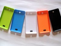 Wholesale 100 New Cover Case for Nokia Lumia XL830 XL Housing Door Battery Cover Replacement with Side Buttons