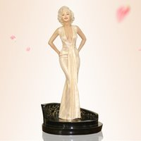 Wholesale 1 Scale Marilyn Monroe Collectible Statue Figure Polyresin Portait