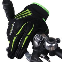 Wholesale Ghost claw full finger outdoor sports gloves wear resistant super fiber non slip bike gloves support mixed batch
