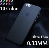 Wholesale Matte Transparent Ultra thin mm Back Case For iPhone plus iPhone s plus iPhone S c iPhone4 SSE PC Protective Cover Skin Shell