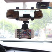 auto mirror holder - Universal Car Rearview Mirror Mount Stand Holder Auto Cradle For Smart Phone GPS