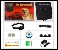 Wholesale Underground Invisible Waterproof Electric Shock rechargeable Dog Fence collar wireless Pet Fencing System S228 for dog training