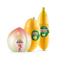 Wholesale BIOAQUA Banana Milk Hand Cream Moisturizing Nourish Anti chapping Hand Care Lotions Handcream Skin Defender ZA2228