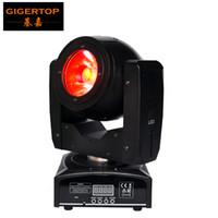 TIPTOP Mini 60W conduit lumière de tête mobile O-R-S-A-M Lampe LED RGBW 4IN1 couleur Beam Effect 4 angle grand angle Bonne faisceau Scanner TP-L6W9