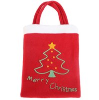 Wholesale christmas decorations Christmas gift bag candy bags gift wrapping santa christmas