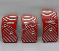 Wholesale HOT SALE Aluminum Slip proof MOMO Racing Car Pedals MT Foot Freadle Manual
