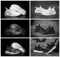 2016 nuevos zapatos corrientes del aire Huarache 4 IV del estilo para los hombres de las mujeres, zapatillas de deporte respirables de calidad superior del deporte de Huaraches Ultra 5.5-12 36-46