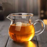 Wholesale glass tea sea gongfu tea serving pitcher transparent high borosilicate serving tea cup