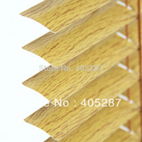 Wholesale mm wood grain Chain Control system Aluminum Venetian Blinds custom made blinds