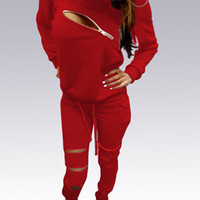 Wholesale Plus Size Sweat Tracksuit Women Casual Zipper Patchwork Velvet Long Sleeve Top And Full Pants Autumn Winter Solid Two Piece Set
