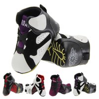 Wholesale New fashion selling PU baby shoes high toddler shoes sneakers for color
