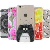 Wholesale Soft TPU Art Print Case sFor Capa For Coque Apple iphone s g Skin Cell Phone Cover For iphone s g