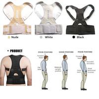 Wholesale Magnetic Therapy Posture Corrector Brace Shoulder Back Support Belt for Men Women Braces Supports Belt Shoulder Posture