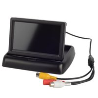 Wholesale HD quot TFT LCD Fold Car Reverse Rear View Monitor Display For DVD Camera M00027