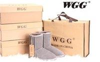 achat en gros de bottes australie-Australia Chaussures de bottes en cuir de bottes de bottes d'hiver de nouvelle haute qualité WGGWomen's Bottes de bottes de bottes classiques de bottes de bottes de neige d'hiver US TAILLE 5--12