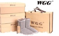 al por mayor australia botas-Australia Los cargadores de las mujeres de los cargadores de la corto-manga de las nuevas mujeres de la alta calidad WGGWomen de los cargadores de la nieve del cargador de la nieve de los cargadores del invierno calzan los EEUU TAMAÑO 5--12