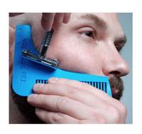 Wholesale Beard Bro Beard Shaping Tool Beard template comb brush Tool Beard comb