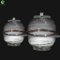 Wholesale mm Vacuum Desiccator Jar Laboratory Dessicator Dryer Schools Laboratory Vacuum Drying Storage Chemistry Equipment