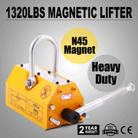 Wholesale 600 KG Steel Magnetic Lifter Heavy Duty Crane Hoist Lifting Magnet lb