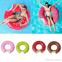 Wholesale 60cm cm cm cm cm Summer Water Sport Inflatable Doughnut Swimming Ring Pool Swimming Float Inflatable Toy