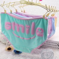active articles - Women s underwear briefs Lovely students dispensing letters Pure cotton and comfortable Soft a pack of article QH