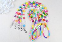 beaded teddy bear - Pet supplies The dog leash colour steel wire beaded cute pet chest straps than teddy bear dog chain small dogs dog chain
