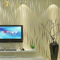 Wholesale modern luxury D wallpaper stripe wall paper papel de parede damask wall paper for living room bedroom TV sofa background R178