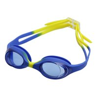 Wholesale Summer Colorful Silicone Watertight Anti Fog Children Kids Swimming Goggles Eyewear Swim Glasses
