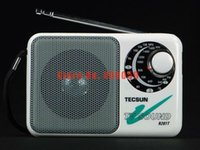 Wholesale Retail Tecsun R201T pocket AM FM TV Sound Radio