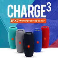 Wholesale JBL Charger Bluetooth Speaker Subwoofer Waterproof Portable Mini Speakers IPX7 Wireless HIFI Loudspeaker For iPhone S Plus with logo