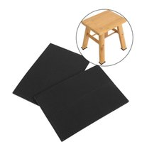 Bamboo bamboo furniture chair - Round Square Rectangle Black Non slip Self Adhesive Floor Protectors Tiles Floor Wall Furniture Desk Chair TRP Rubber Feet Pads