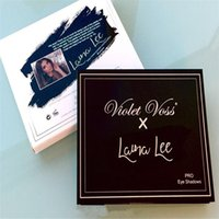Wholesale 2017 Hotest Violet Voss X Laura Lee Pro Eye Shadow Palette REFOR color eyeshadow