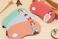 Wholesale European and American fashion personality girl cotton new blinkers eyeshade sleep bag