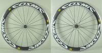 Wholesale Fast Forward C mm Clincher Wheelset Alloy Brake Surface Carbon Road Bike Wheels