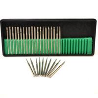 Wholesale 30pcs set Nail Drill Bits Diamond Grinding Head Nail Art Tools for Manicure Pedicure Machine Accessories