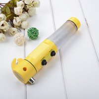 Wholesale Safety hammer Emergency Hammer Multifunctional flashlight g v