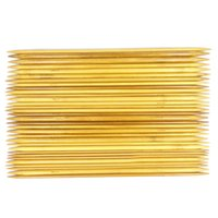 bamboo craft supplies - Sizes Double Pointed Knitting Bamboo Needles Weaving Needles Hand Crafts Tools Supplies Accessories