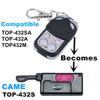 Wholesale Copy CAME TOP S Duplicator mhz remote control Universal Garage Door Gate Fob Remote Clone mhz fixed code