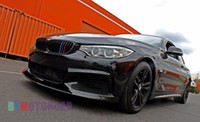 Wholesale P Style K Carbon Fiber Front Bumper Lip Spoiler F32 F33 F36 MTECH Fit For BMW