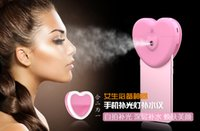 Wholesale hot Heart Shape Selfie Portable Photography Light Enhancing fh105 the fill light humidifying artifact also have mini flash light