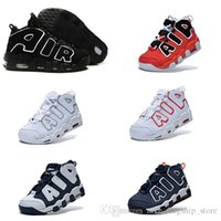 basketball basket height - 2017 AIR More Uptempo Scottie Pippen Basketball Shoes For Lover Fashion Best Price black white Top Quality Athletic Sport Sneakers Eur