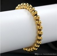 beads jewellery designs - New design Couples Stainless steel Bracelet Fashion Jewelry beads Bracelet Jewellery