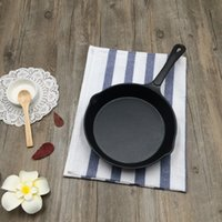 Wholesale Hot min pan cm Cast iron fryed egg pan with a handle integrative style