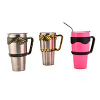 bear mugs - Portable Plastic drinkware handle cups mugs Handle Holder For oz oz travel Bear vacuum coffee Rambler Tumbler Rambler Handle cups mugs